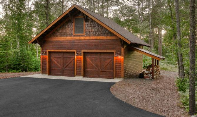 Bewitching Garage Shed Rustic Design Ideas