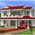 Bhk Double Storey House Design Kerala Home