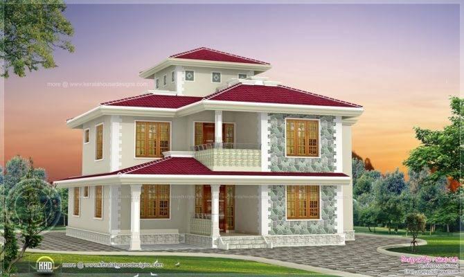 Bhk Kerala Style Home Design