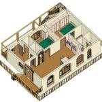 Bhk Vastu Home Plan East Facing Corner