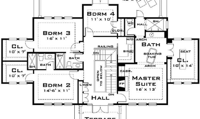 Big Home Blueprints Deco Plans