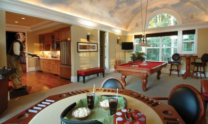 Billiards Room Ideas House Plans More
