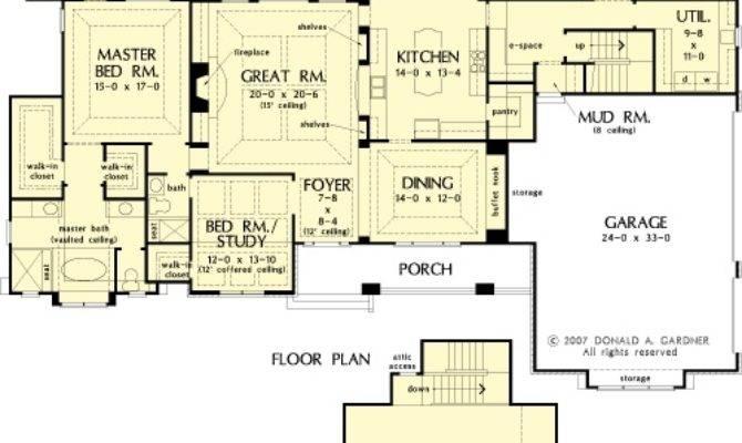 Birchwood House Plans First Floor Plan
