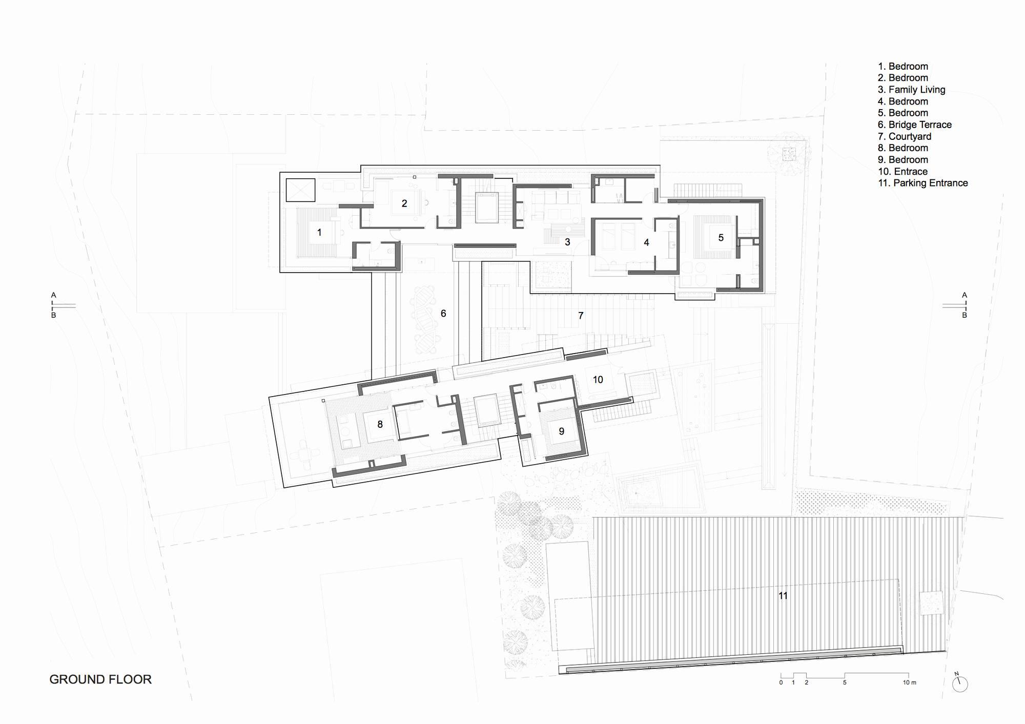 Blank House Floor Plan Template