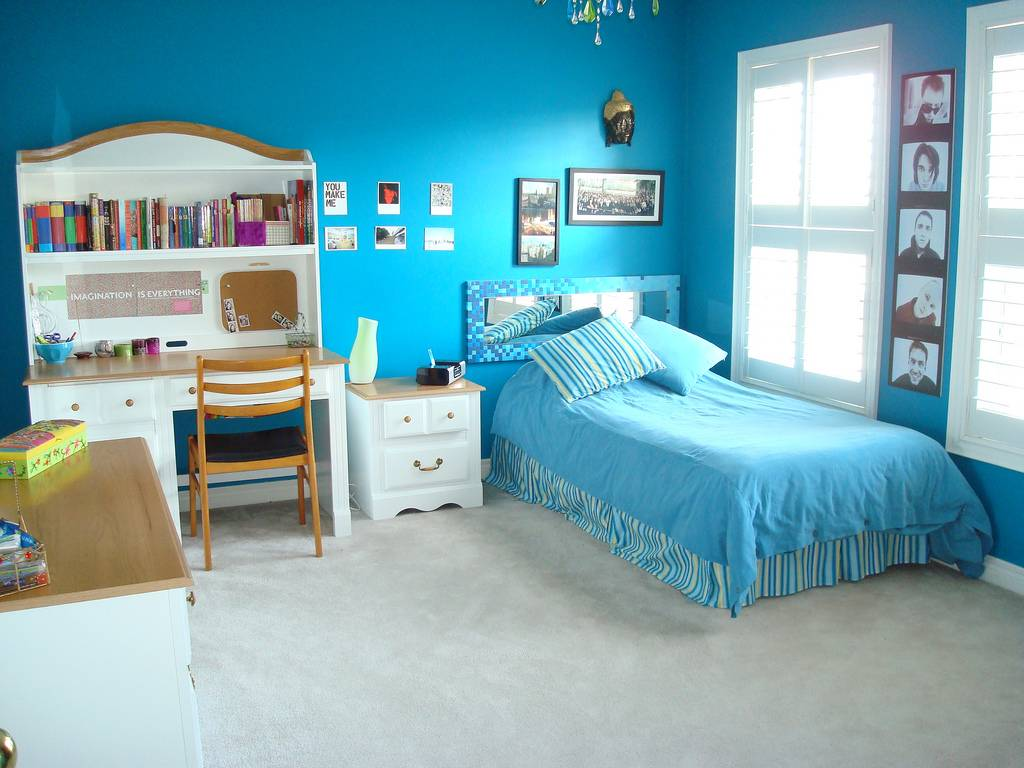 Blue Bedrooms Kids Wonderful