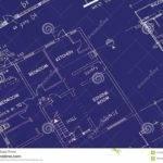 Blueprint Building Plans Dining