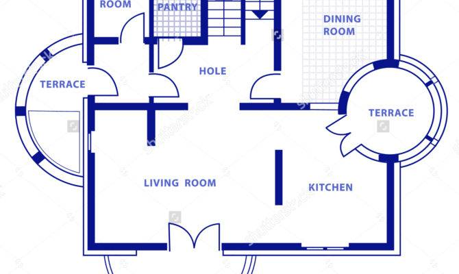 Blueprint House Home Deco Plans