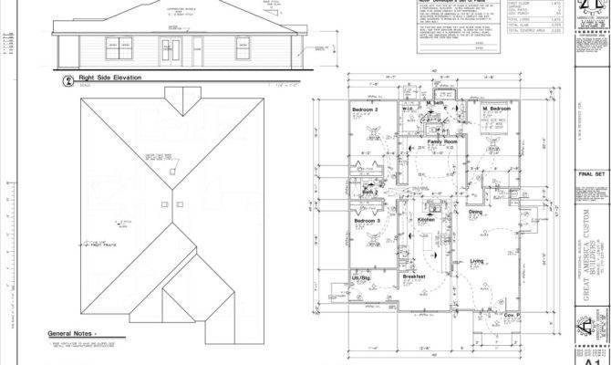 Blueprint House Sample Floor Plan