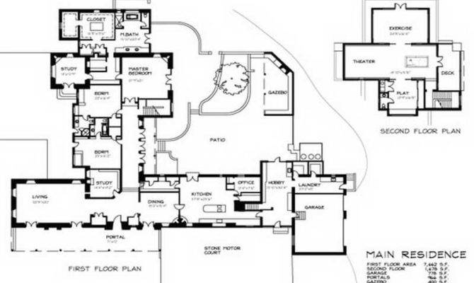 Blueprints Houses Homeplans House Designs