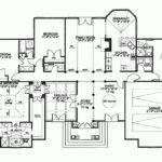 Blueprints Story Houses Eplans Mediterranean House Plan Grand