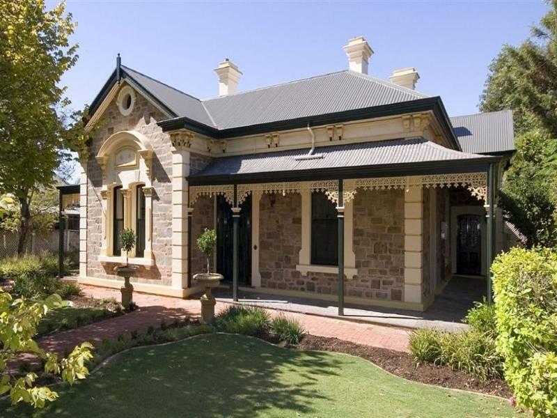 Bluestone Colonial House Exterior Verandah