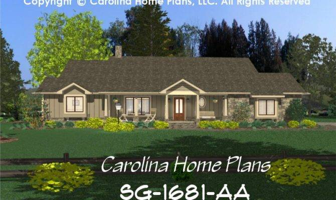 Board Batten Style House Plans