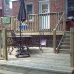 Board Beyond Home Improvements Two Tier Backyard Deck
