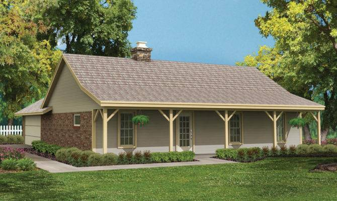 Bowman Country Ranch Home Plan House Plans More