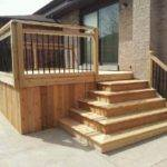 Box Steps Alpine Deck