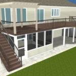 Brand New Wayne Area Second Story Deck Pergola
