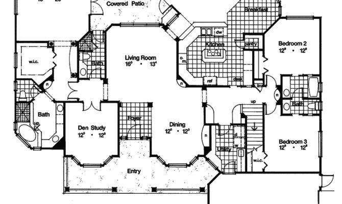 Branford Hill Country Home Plan House Plans
