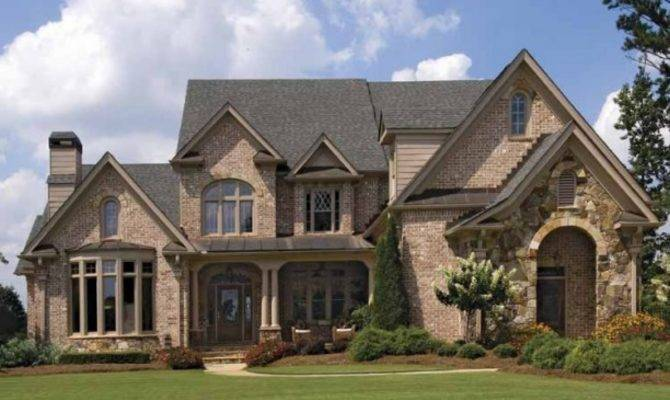 Brick French Country House Plans Homes