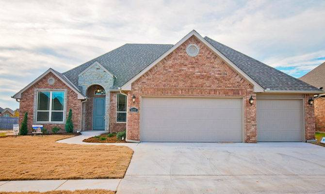 Brick Home Stone Accents Traditional Exterior