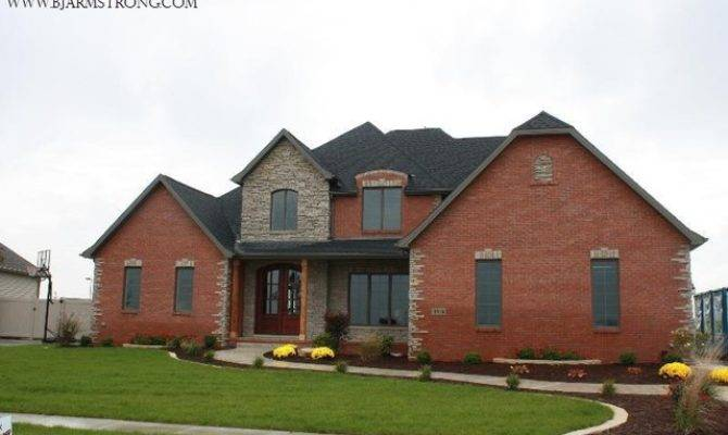Brick Stone Home Exterior Traditional