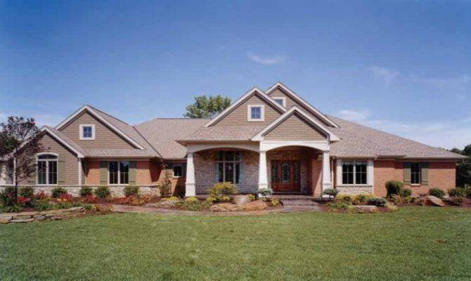 Brick Stone Homes Eplans Craftsman House Plan