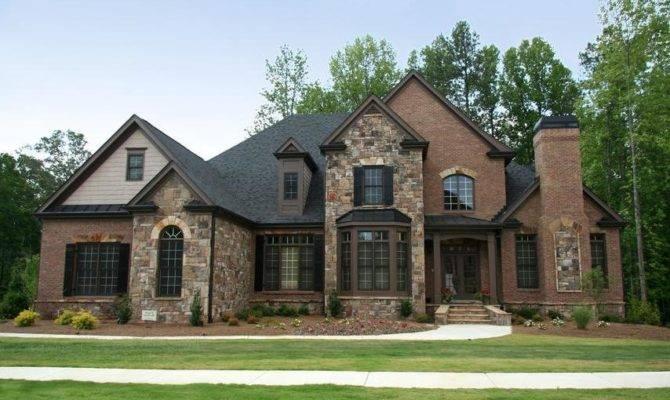 Brick Stone House Photos