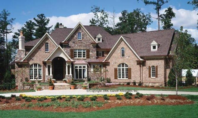 Brick Stone House Plans Build Planter Bench