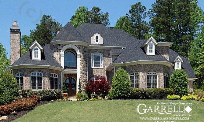 Brick Two Story House Plans Home Deco