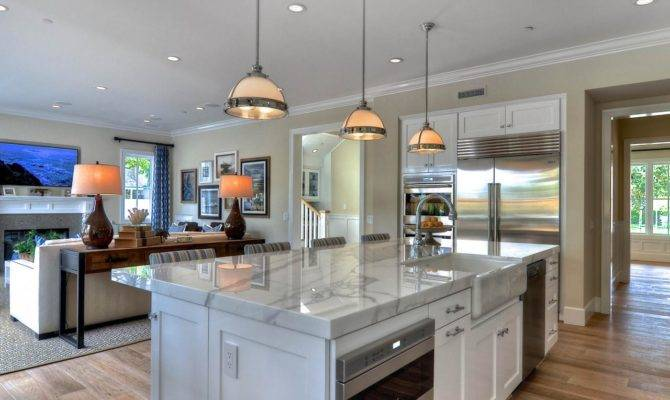 Bright Open Concept Kitchen Love Light Airy Feel
