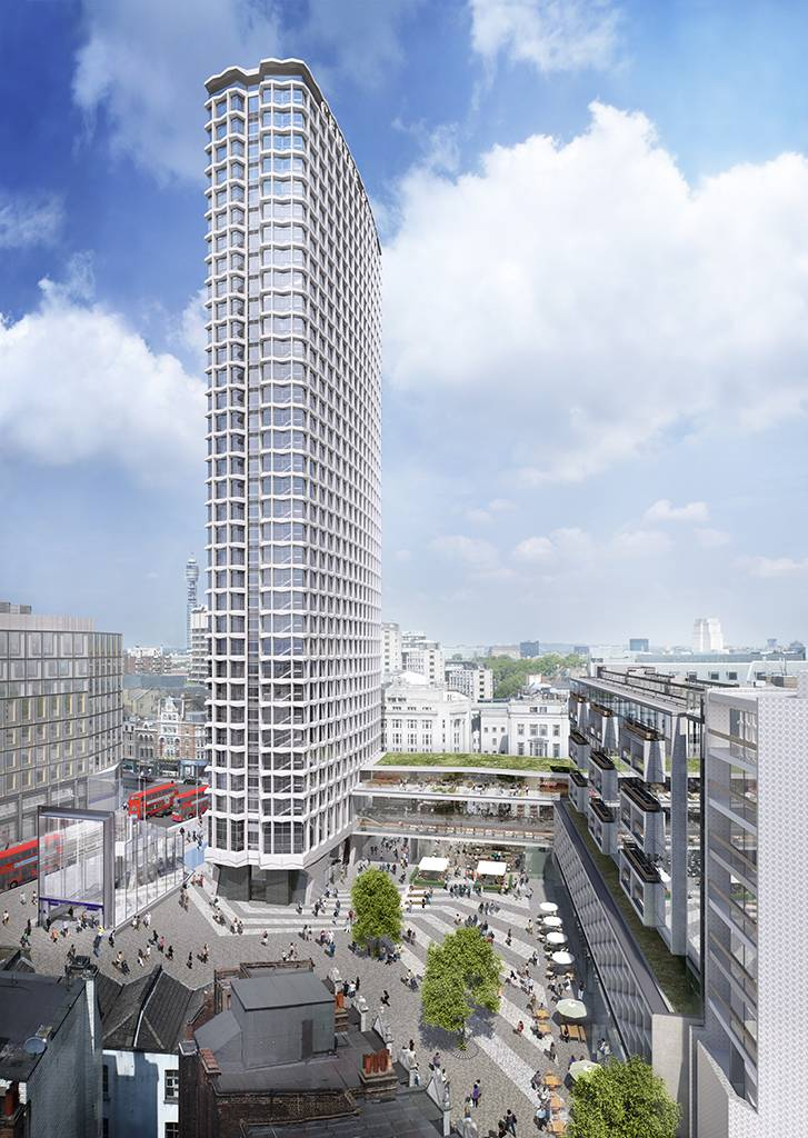 Brookfield Multiplex Starts London Centre Point Revamp