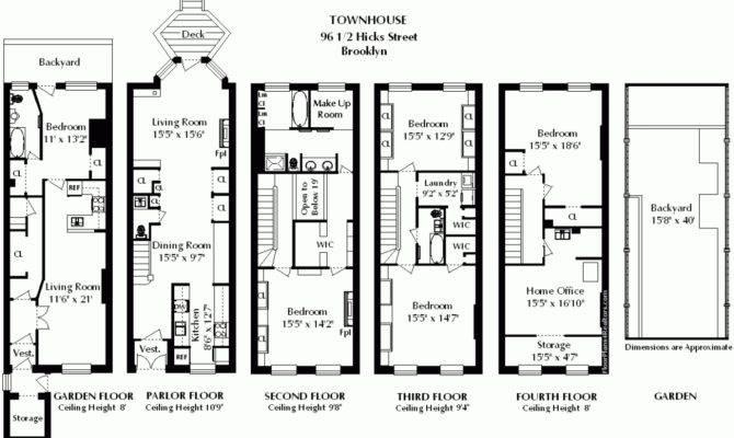 Brownstone Floor Plans House Plan Heritage