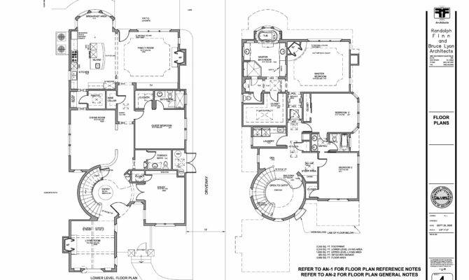 Bruce Lyon Architect Custom Home Spanish Colonial Style Los