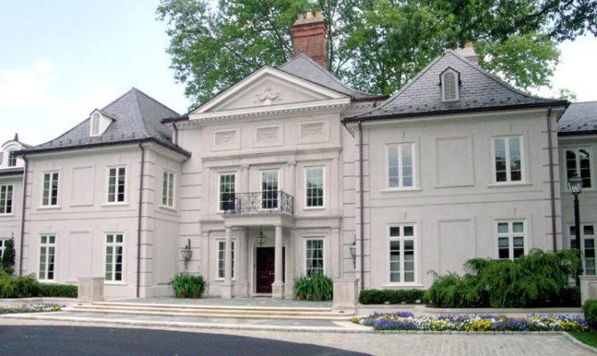Bryn Mawr French Mansion Homes Rich