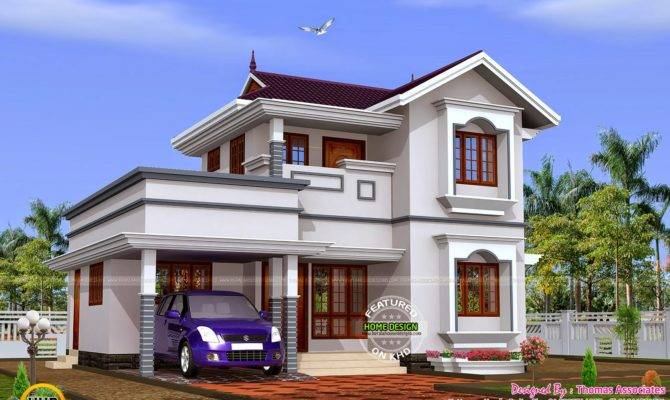 Budget Double Storied House Estimate Kerala Home