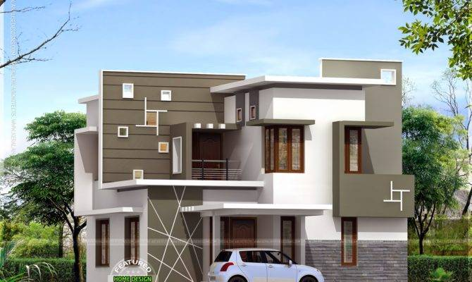 Budget Modern House Kerala Home Design Floor Plans