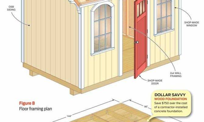 Build Cheap Storage Shed Handyman