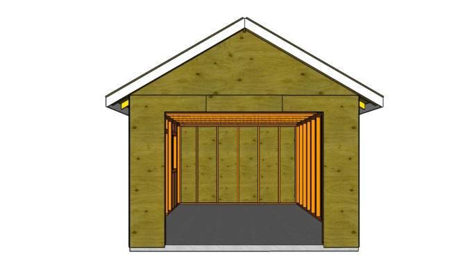 Build Detached Garage Howtospecialist