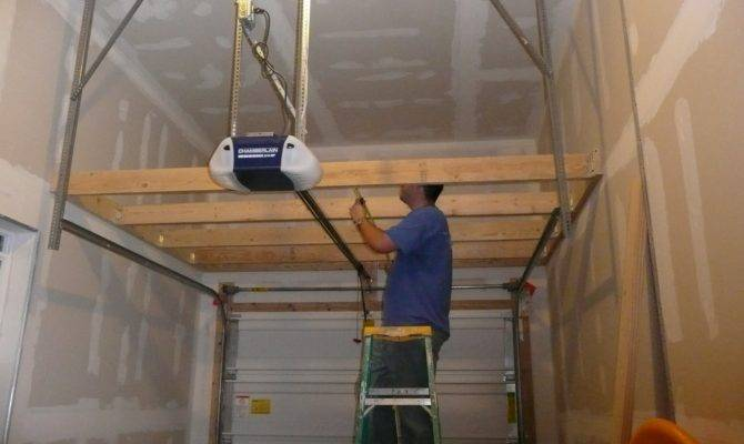 Build Garage Storage Loft Plans Diy Simple