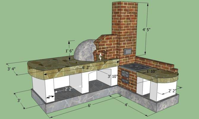 Build Outdoor Kitchen Howtospecialist
