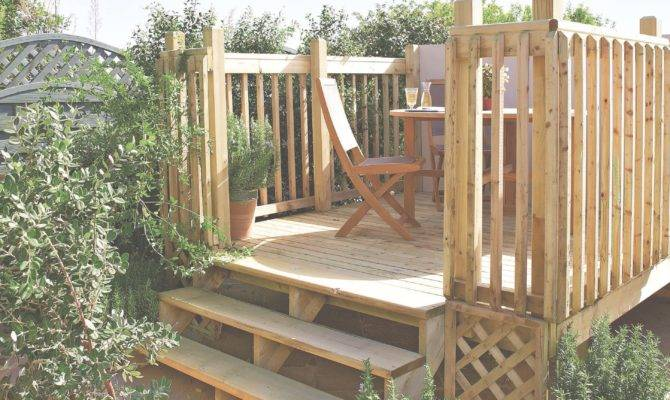 Build Raised Deck Help Ideas Diy