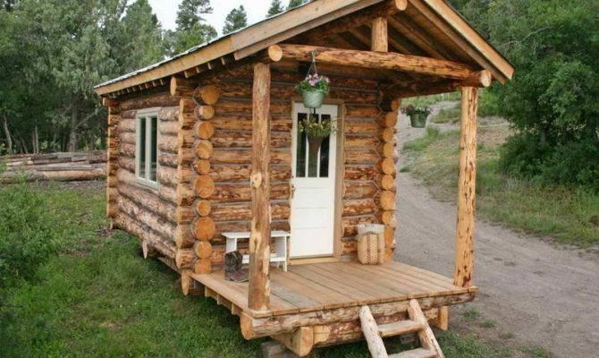 Build Small Log Cabin Kits Ski Hut