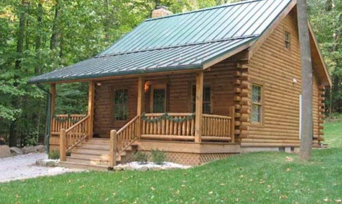 Build Small Log Cabin Kits