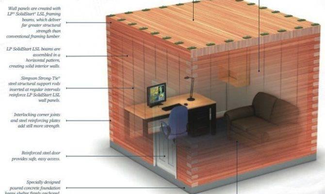 Build Solid Wood Safe Room Your House Habiframe Storm