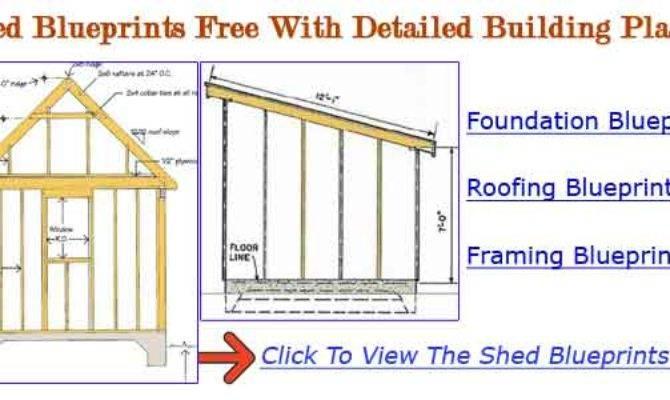 Build Storage Shed Plans Kits