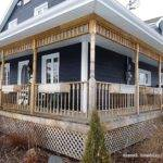 Build Victorian Style Wrap Around Deck Porch