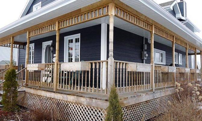 Build Victorian Style Wrap Around Deck Porch