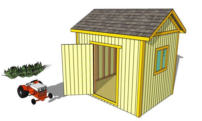 Build Your Own Outdoor Shed Using Plans