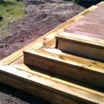 Building Box Steps Deck