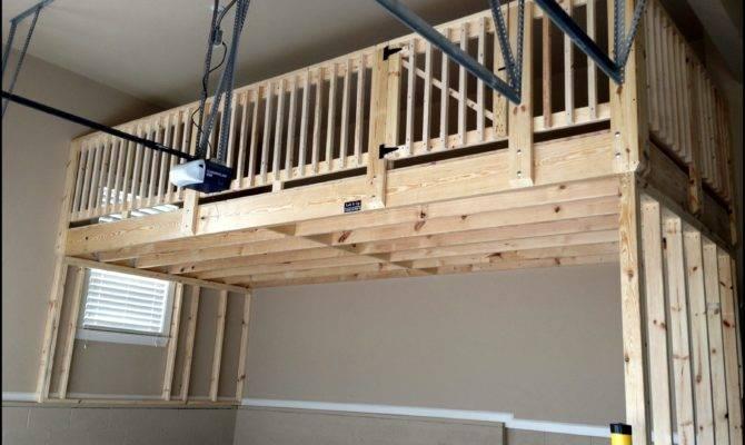 Building Garage Storage Loft
