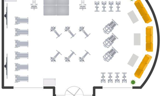 Building Gym Spa Plans Layout Plan Sample